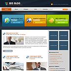 SEO blog flash animated wordpress theme - #2353