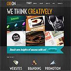 Dark Portfolio WordPress Theme – #5208